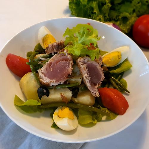 Salade Niçoise au Thon Rouge